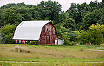 A collection of Barns that still can be seen while traveling the countryside in  the beautiful State of Wisconsin.<br /> Crawford County- Barn County Rd X and Adams Road.