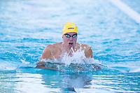 Santa Clara, California - Saturday June 4, 2016: Josh Prenot races the Men's 200 LC Meter Breaststroke at the Arena Pro Swim Series at Santa Clara A final.