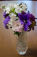 Bouquet picked from Community Garden for Meals on wheels, Yarmouth Maine