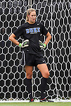19 August 2012: Duke's Meghan Thomas. The Duke University Blue Devils defeated the Elon University Phoenix 8-0 at Koskinen Stadium in Durham, North Carolina in a 2012 NCAA Division I Women's Soccer game.