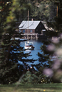 Nova Scotia, Canada, 1967. Fisherman retreat.