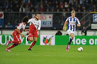 VOETBAL: HEERENVEEN: Abe Lenstra stadion 30-08-2014, SC Heerenveen - FC Utrecht uitslag 3-1, Joost van Aken, ©foto Martin de Jong