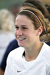 3 November 2006: North Carolina's Heather O'Reilly. North Carolina defeated Clemson 3-0 at SAS Soccer Park in Cary, North Carolina in an Atlantic Coast Conference women's college soccer tournament semifinal game.
