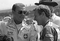 A.J. Foyt Hurley Haywood Firecracker 400 at Daytona International Speedway in Daytona Beach, FL on July 4, 1983. (Photo by Brian Cleary/www.bcpix.com)