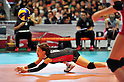 Yuko Sano (JPN),   .NOVEMBER 17,2011 - Volleyball : FIVB Women's Volleyball World Cup 2011,4th Round Tokyo(A) during match between Japan 3-2 Germany at 1st Yoyogi Gymnasium, Tokyo, Japan. (Photo by Jun Tsukida/AFLO SPORT) [0003].