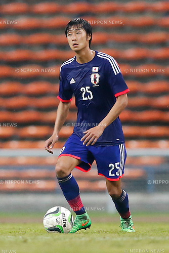Takaharu Nishino (JPN), MARCH 29, 2015 - Football / Soccer : AFC U-23 Championship 2016 Qualification Group I match between U-22 Japan 2-0 U-22 Vietnam at Shah Alam Stadium in Shah Alam, Malaysia. (Photo by Sho Tamura/AFLO SPORT)