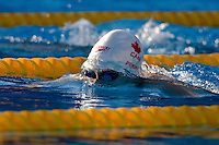 Annamay Pierse (CAN) competes in the 200 m Women's Breaststroke Swimming competition during the 13th FINA Swimming World Championships held in Rome, Italy. Thursday, 30. July 2009. ATTILA VOLGYI