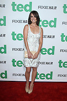 "LOS ANGELES - JUN 21:  Jessica Stroup arrives at the ""Ted"" Premiere at Village Theater on June 21, 2012 in Westwood, CA"