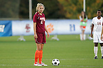 05 November 2008: Virginia Tech's Brittany Michaels. Virginia Tech and Florida State University played to a 0-0 tie after two overtimes at Koka Booth Stadium at WakeMed Soccer Park in Cary, NC in a women's ACC tournament quarterfinal game.  Virginia Tech advanced to the semifinal round in penalty kicks, 4-2.