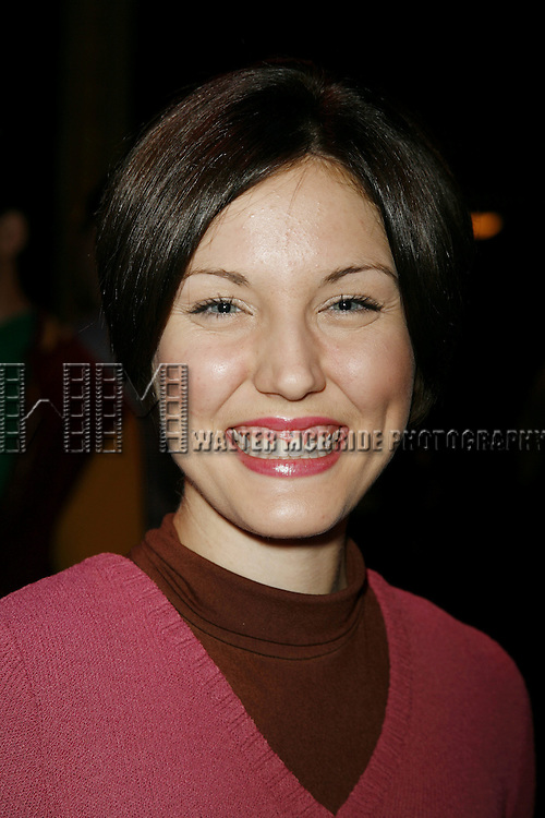 Mara Davi  ( Maggie ).Attending the Meet and Greet / Introduction with the  2006 Cast of A CHORUS LINE at the Hudson Theatre in New York City..April 26, 2006.© Walter McBride/WM Photography