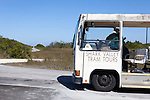 Tourism in Shark Valley area, Everglades National Park, Florida, USA