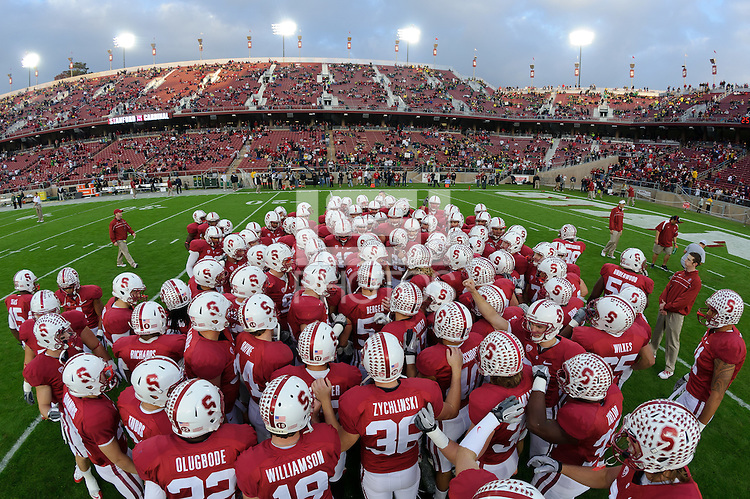 Stanford, Ca - Saturday, November 12, 2011:  Stanford vs University of Oregon. Stanford 30, Oregon 53.