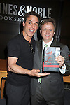 "Christian Jules LeBlanc and Michael Maloney attend the book signing of "" The Young & Restless LIfe of William J Bell"" by Michael Maloney and Lee Phillip Bell  on June 21, 2012 at The Barnes & Nobles in The Grove in Los Angeles."