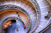 Vatican Museum's spiral ramp Giuseppe Momo in 1932, photo 2011.