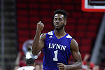 03 November 2016: Lynn's Darius James. The North Carolina State University Wolfpack hosted the Lynn University Fighting Knights at PNC Arena in Raleigh, North Carolina in a 2016-17 NCAA Division I Men's Basketball exhibition game. NC State won the game 100-66.
