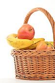 Stock photo of fruit basket