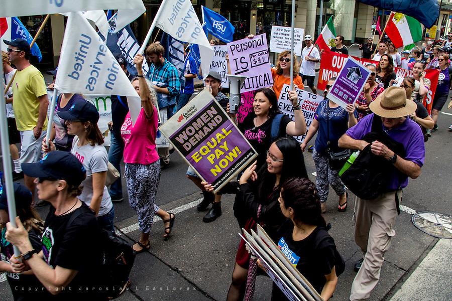 International Woman's Day, Sydney 14.03.14