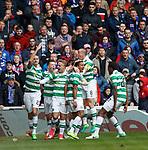 Scott Sinclair celebrates his goal