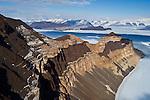 Finger Mountain. Upper Taylor Glacier. Dry Valleys Antarctica.