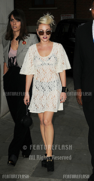Jaime Winstone arrives at Zuma for the Topshop Dinner to celebrate the opening of the new store in Knightsbridge. 19/05/10.Picture by Simon Burchell / Featureflash.