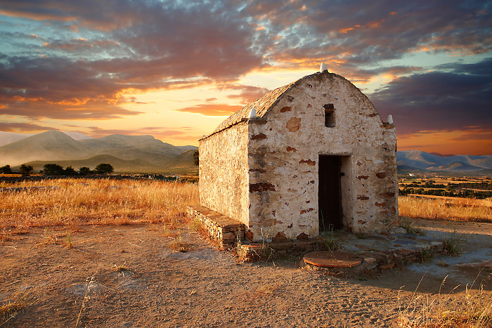Byzantine Orthodox Church - Naxos Cylcades Islands, Greece