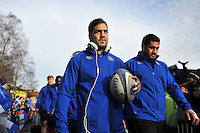 Horacio Agulla of Bath Rugby. European Rugby Champions Cup match, between Bath Rugby and RC Toulon on January 23, 2016 at the Recreation Ground in Bath, England. Photo by: Patrick Khachfe / Onside Images