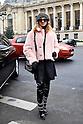 Haute-couture Fashion Show in Paris: Chanel Arrivals