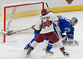 Alexander Kerfoot (Harvard - 14), Kyle Haak (AFA - 16), Shane Starrett (AFA - 40) - The Harvard University Crimson defeated the Air Force Academy Falcons 3-2 in the NCAA East Regional final on Saturday, March 25, 2017, at the Dunkin' Donuts Center in Providence, Rhode Island.
