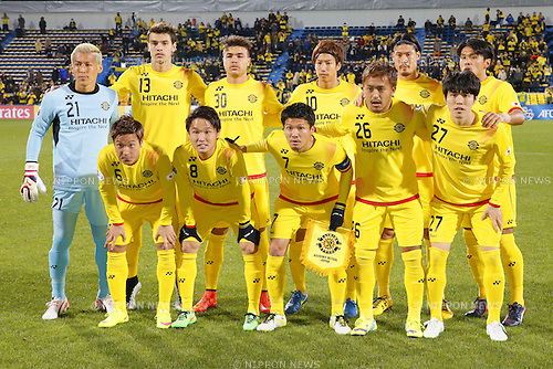 Kashiwa Reysol team group line-up (Reysol), March 3, 2015 - Football / Soccer : 2015 AFC Champions League Group E match between Kashiwa Reysol 5-1 Binh Duong at Hitachi Kashiwa Stadium in Chiba, Japan. (Photo by Yusuke Nakanishi/AFLO SPORT) [1090]