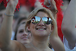 Ole Miss students cheer before the game vs. Central Arkansas at Vaught-Hemingway Stadium in Oxford, Miss. on Saturday, September 1, 2012. Ole Miss won 49-27.