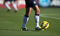 Shannon Boxx, Nike soccer balli.  The USWNT defeated Scotland, 4-1, during a friendly at EverBank Field in Jacksonville, Florida.
