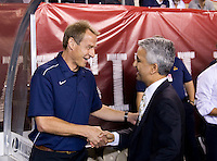 Jurgen Klinsmann, Sunil Gulati. The USMNT tied Mexico, 1-1, during their game at Lincoln Financial Field in Philadelphia, PA.