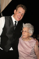 Mindy and Joel's Wedding October 14, 2011. Clint and Grandmother.