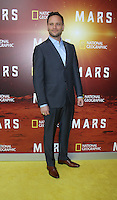 NEW YORK, NY-October 26: Ben Cotton at National Geographic Channel presents the Epic Six-Part Event Series MARS premiere at the School of Visual Arts  in New York.October 26, 2016. Credit:RW/MediaPunch