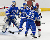 Shane Starrett (AFA - 40), Kyle Haak (AFA - 16), Dylan Abood (AFA - 23), Sean Malone (Harvard - 17) - The Harvard University Crimson defeated the Air Force Academy Falcons 3-2 in the NCAA East Regional final on Saturday, March 25, 2017, at the Dunkin' Donuts Center in Providence, Rhode Island.