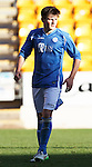 St Johnstone v Stranraer...01.11.15   Little Big Shot Youth Cup 3rd Round, McDiarmid Park, Perth<br /> George Hunter celebrates scoring his penalty<br /> Picture by Graeme Hart.<br /> Copyright Perthshire Picture Agency<br /> Tel: 01738 623350  Mobile: 07990 594431