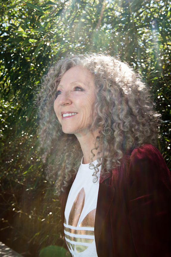 Curly hair expert Lorraine Massey at her home in Leonia, New Jersey.