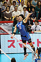 Kunihiro Shimizu (JPN), .JUNE 9, 2012 - Volleyball : .FIVB Men's World Olympic Qualification Tournament .for the London Olympics 2012 .between Japan 3-1 Puerto Rico .at Tokyo Metropolitan Gymnasium, Tokyo, Japan. .(Photo by YUTAKA/AFLO SPORT) [1040]