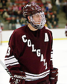 Francois Brisebois (Colgate - 13) - The Harvard University Crimson defeated the visiting Colgate University Raiders 6-2 (2 EN) on Friday, January 28, 2011, at Bright Hockey Center in Cambridge, Massachusetts.