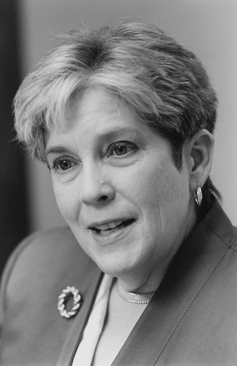 Mary Cathcant of Maine. April 1994 (Photo by Maureen Keating/CQ Roll Call)