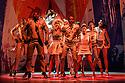 "London, UK. 25.07.2016. Sadler's Wells presents the world premiere of ""Vamos Cuba!"", choreographed by Nilda Guerra. Dancers are: Yoanis Pelaez, Leandro Zulueta, Adrian Gonzalez, Luis Carricaburu, Lazaro Joao Aguilera, Yarima Rofriguez, Ana Aylen Salazar, Yanisley Prado, Jenny Nocedo, Yaima Santana, Katia Oerez, Susell Lopez, Dayneris Sanchez, Ranses Charon. Singers are: Geydi Chapman, Maikel Ante.  Photograph © Jane Hobson."