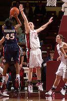 28 December 2006: Stanford Cardinal Christy Titchenal during Stanford's 86-58 win against the Arizona Wildcats at Maples Pavilion in Stanford, CA.