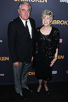 HOLLYWOOD, LOS ANGELES, CA, USA - DECEMBER 15: William Alvin Pitt, Jane Etta Pitt arrive at the Los Angeles Premiere Of Universal Pictures' 'Unbroken' held at the Dolby Theatre on December 15, 2014 in Hollywood, Los Angeles, California, United States. (Photo by Xavier Collin/Celebrity Monitor)