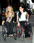 June 05, 2012: Tiphany Adams and Mia Schalkewitz at PIX11 Morning News in New York City to tdiscuss their new Sundance Channel docu-series 'Push Girls'. &copy; RW/MediaPunch Inc. ***NO GERMANY***NO AUSTRIA***
