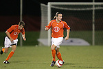 1 November 2006: Clemson's Frederico Moojen (11). Virginia defeated Clemson 2-0 at the Maryland Soccerplex in Germantown, Maryland in an Atlantic Coast Conference college soccer tournament quarterfinal game.