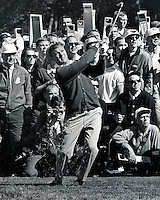 Arnold Palmer at the 1966 U.S. Open at the Olympic Club in San Francisco. photo/Ron Riesterer