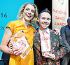 The Critics' Circle National Dance Awards 2016 <br /> at the Lilian Baylis Studio, Sadler's Wells, London, Great Britain <br /> <br /> 6th February 2017 <br /> Zenaida Yanowsky <br /> Chase Johnsey<br /> <br /> <br /> <br /> Photograph by Elliott Franks <br /> Image licensed to Elliott Franks Photography Services