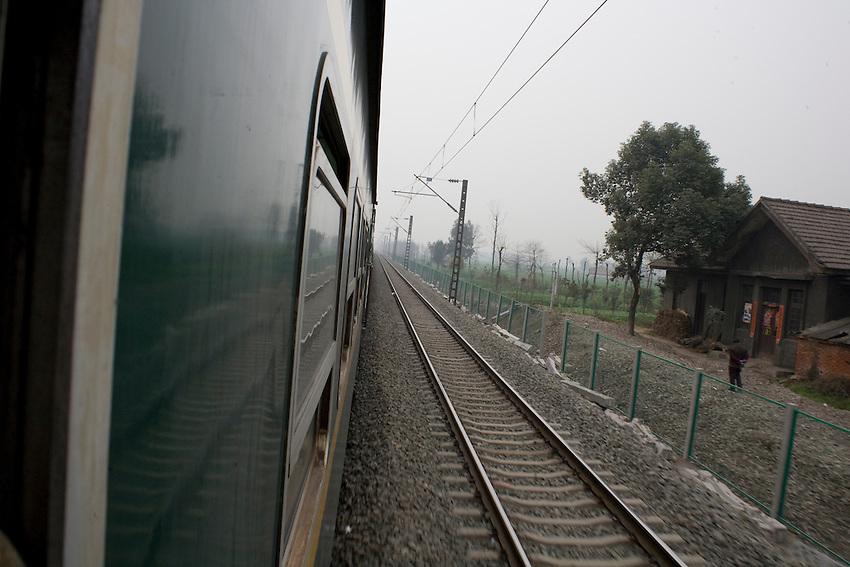 Railways on the morning.