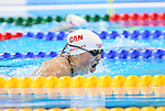 Rio de Janeiro-10/9/2016-Canadian swimmer Tess Routliffe competes in the women's 100m breaststroke  final at the 2016 Paralympic Games in Rio. Photo Scott Grant/Canadian Paralympic Committee