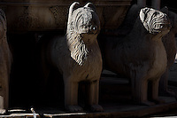 Courtyard of the Lions (Detail); 1362; Second reign of Muhammad V; Nasrid Palace; The Alhambra, Granada, Andalusia, Spain Picture by Manuel Cohen